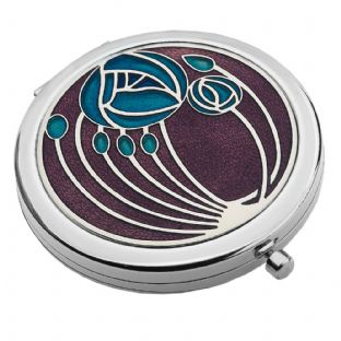 Rennie Mackintosh Roses Compact Mirror